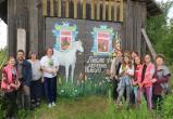Арт-объект «Люблю я деревню Николу» создали в селе Никольское, где провел детство поэт Николай Рубцов