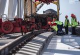 На Крымском мосту состыковали железнодорожные рельсы. Есть ВИДЕО