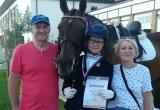 Череповчанка привезла три медали с международных соревнований по конному спорту