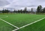В Харовске после капремонта открыли детский сад и новую площадку для мини-футбола