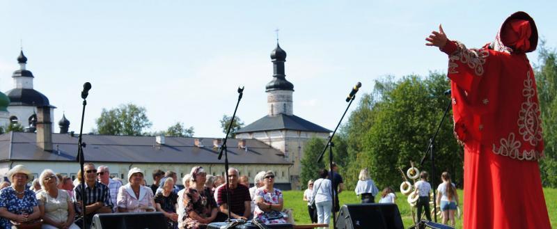 В Кириллове под звуки гармони прошел праздник «Душа Белозерья»
