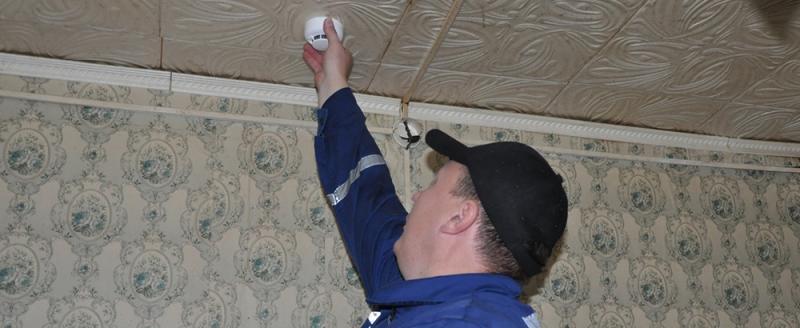 В неблагополучных вологодских семьях бесплатно установят пожарные извещатели