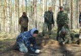 Недалеко от села Ошта поисковики обнаружили склад боеприпасов времен Великой Отечественной войны