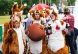 Веселье в Череповце: в городе проходит фестиваль уличных театров