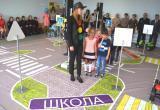 В Тотьме торжественно открыт детский автогородок