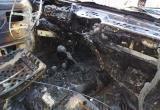 Две машины в один день загорелись в разных районах области