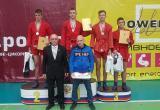 Череповчанин взял «бронзу» всероссийских соревнований по самбо