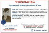 Розыск! В Череповецком районе пропал 67-летний Валерий Славинский