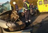 На месте ДТП в Череповце несколько часов работали спасатели(ВИДЕО)