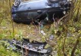 Житель Череповца вылетел на иномарке с трассы в кювет, мужчину срочно увезли в больницу