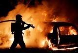 Поджог автомобиля начальника по борьбе с оргпрестуностью раскрыли меньше чем за месяц