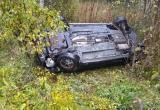 Водитель Kia Ceed, опрокинувшейся в кювет под Череповцом, умер в больнице