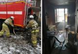 Пять человек спасли пожарные. В Соколе 4 ноября загорелся еще один деревянный дом
