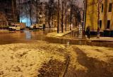 Из-за обильных осадков ситуация в Вологде обостряется