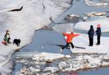 Лед еще не окреп и опасен. Инспекторы ГИМС просят вологжан не рисковать жизнью