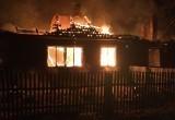 В Устюженском районе сгорел дом. От ожогов умер один из жильцов