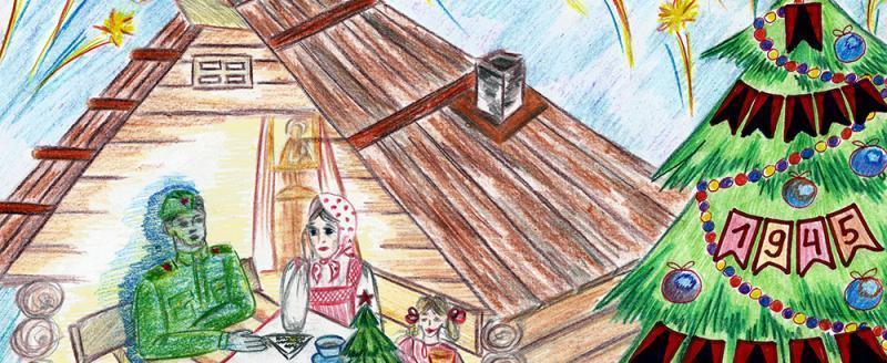 Романа Шустика из Череповца наградили в Музее Победы в Москве за рисунок елки Победы