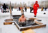 Из-за тонкого льда в Вологде организуют только две крещенские купели