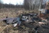 Под Череповцом поселившийся в бане мужчина сгорел вместе с ней