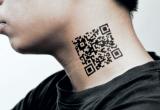 Готовы ли вы сделать тату с QR-кодом, содержащим личную информацию?