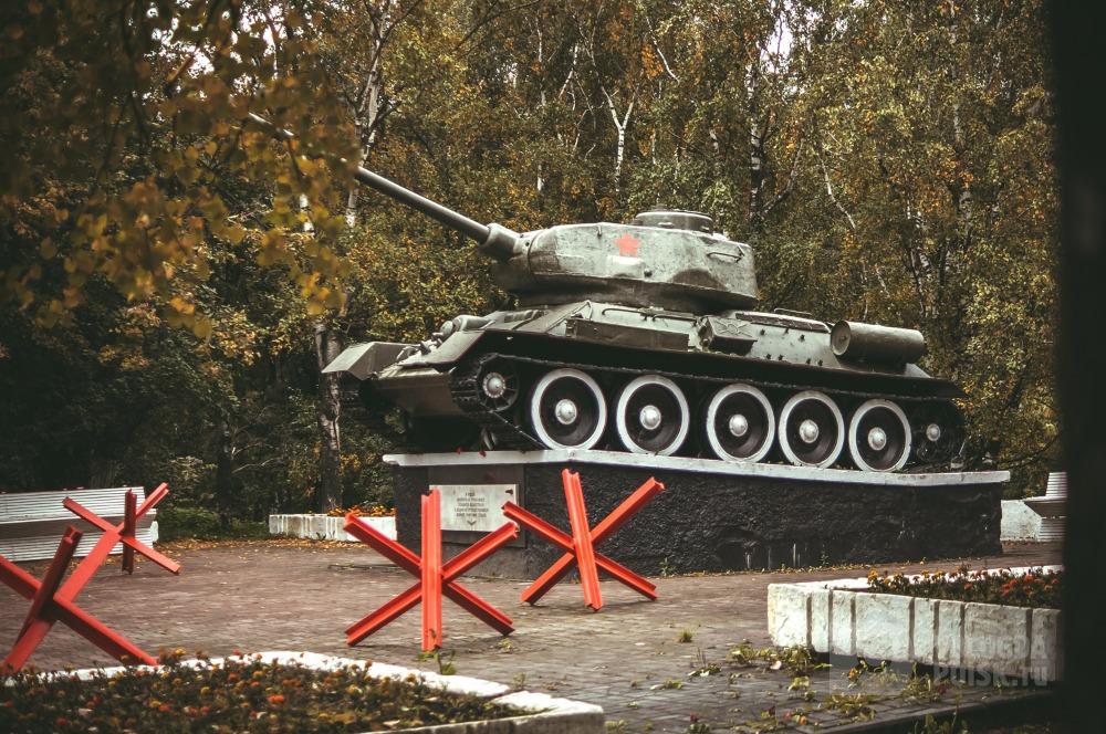 Фото Памятник Танк Т34