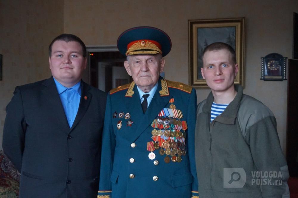 2018 год. Фронтовик, генерал – майор Василий Коровкин