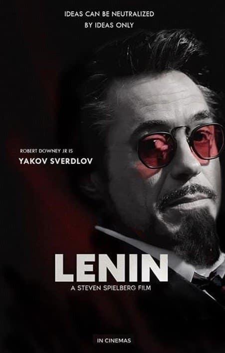 Ди Каприо – Ленин, Питт – Путин: знаменитости в образах российских политиков